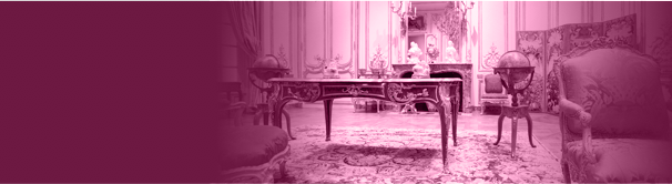 Room decorated with antique furniture